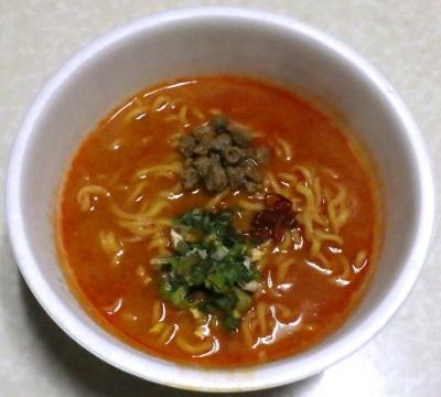 2/11発売 地獄の担担麺 護摩龍 阿修羅2nd(できあがり)