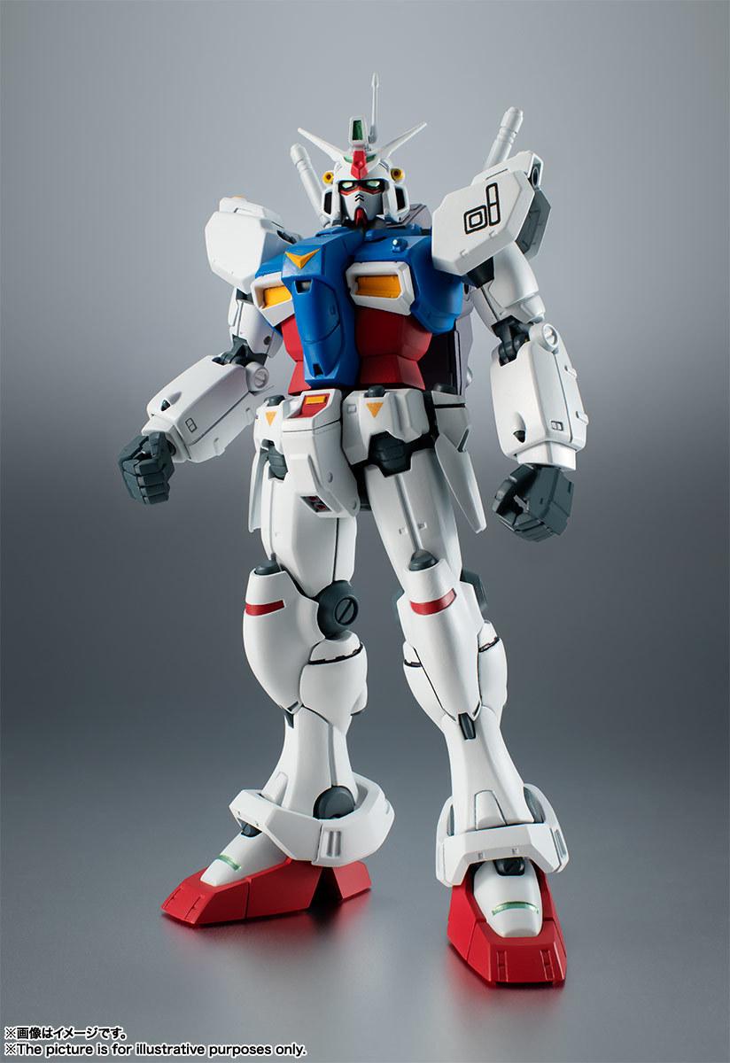 ROBOT魂 RX-78GP01 ガンダム試作1號機 ver. A.N.I.M.E.の商品ページ公開 ...