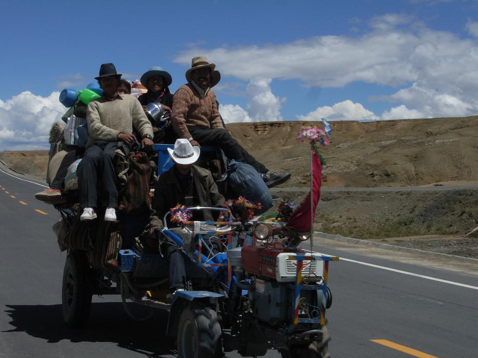 國道318號線 : 心の旅 自転車世界一周