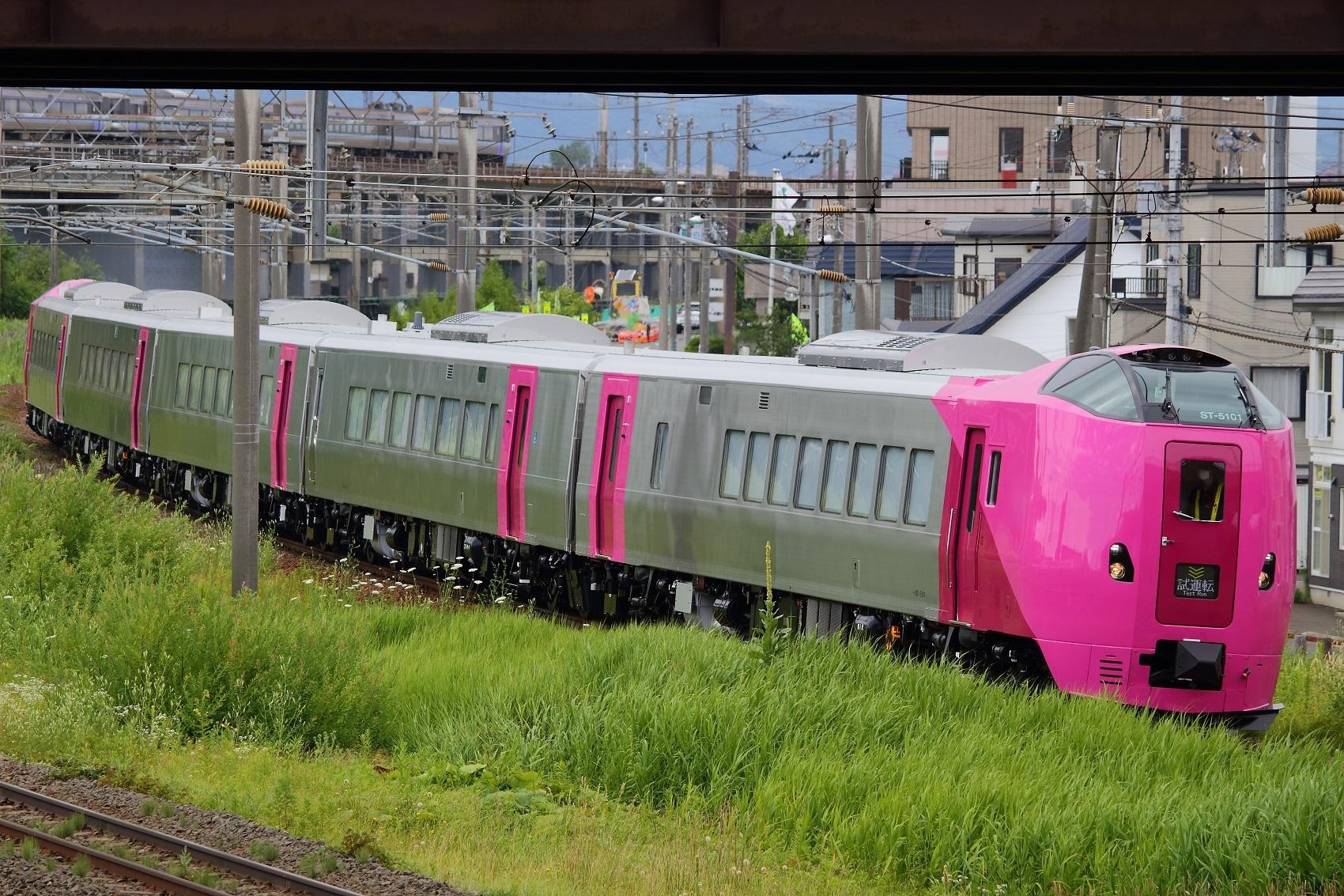 キハ261系5000番臺はまなす編成の試運転が始まる - 北海道の鉄道 ...