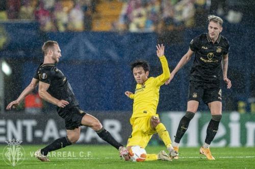 Villarreal 1-0 Maccabi Tel-Aviv Kubo Takefusa EL