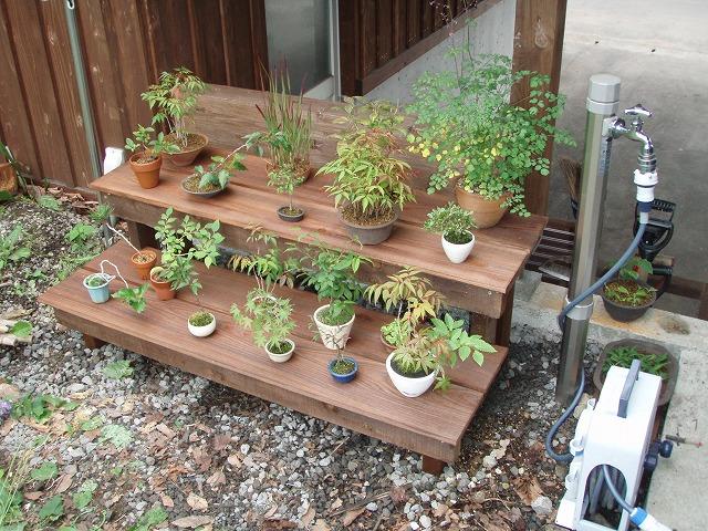 副産物~その2 盆栽臺をつくる - DIYと木工と園蕓なまいにち