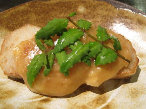 里芋とチーズの山椒風味