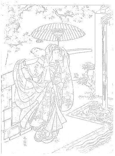 カテゴリー :鈴木春信 ぬり絵リラックス(無料ぬり絵と世界の名画の美術館)