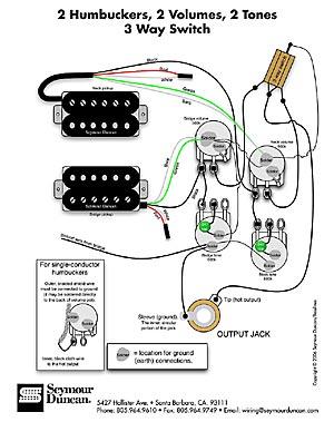 超便利なエレキギター実体配線図:GPZ900の音楽とPCゲームの日々