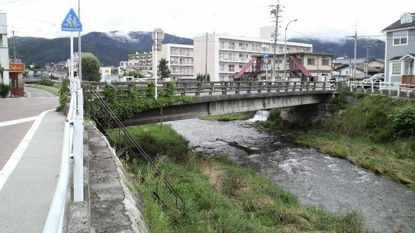 松本:女鳥羽川散歩《清水橋》|Lorenzoの【西方見聞録】