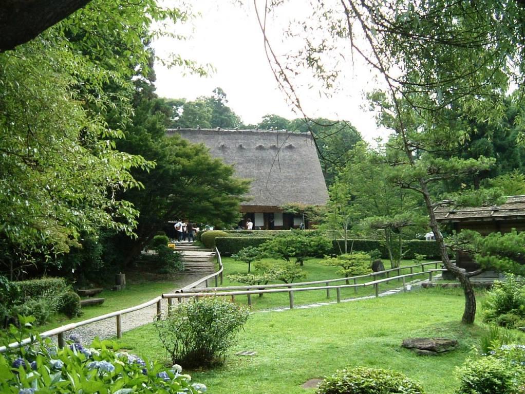 東山植物園 合掌造りの家 -- きんくんの閑談