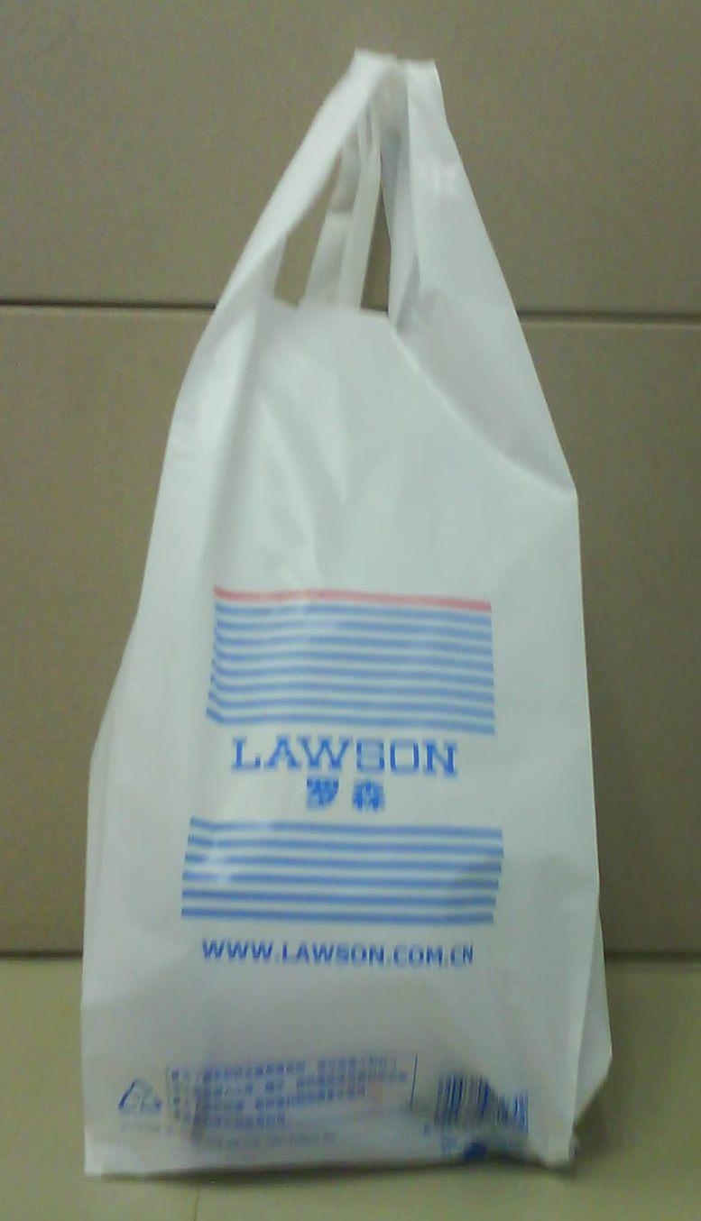 中國で楽しむ ビニール袋が有料に。中國でもエコバッグ