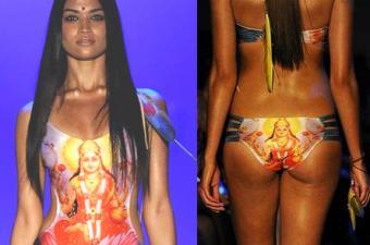 Goddess Lakshmi and Bikini