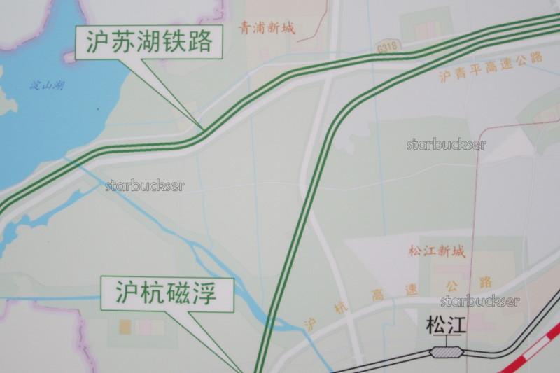 杰宿 絮語 starbuckser's blog  [星垂野闊]長三角長三個Y:說說上海高速鐵路網