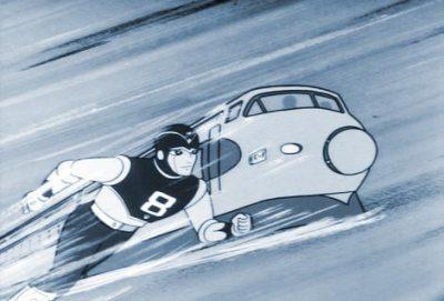 「新幹線追い越すエイトマン」の画像検索結果