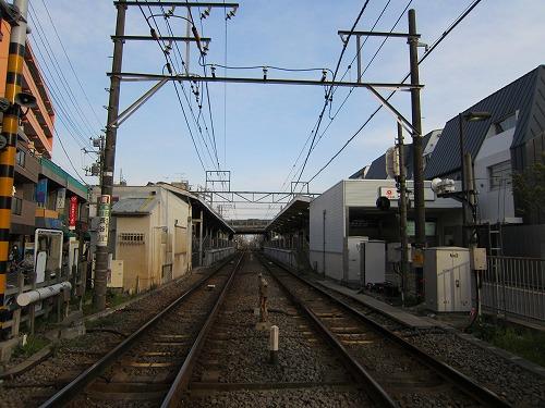 沼部駅 2