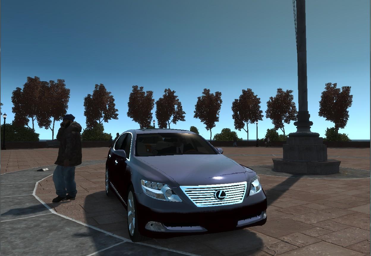 GTA4 車MOD Lexus LS 600hL