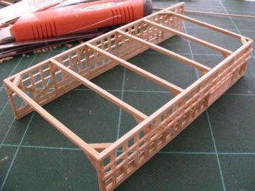 鉄道模型レイアウト ジオラマ制作記 | 2010年 羽中の旅 |HOストラクチャー 豚舎を作る(1)