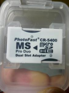 Photo Fast CR-5400 本体