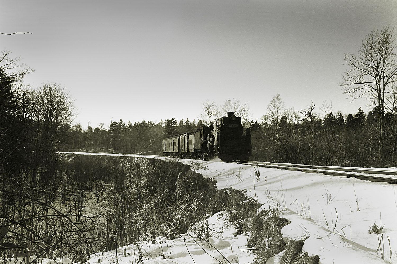 混合列車(根室本線) - くろくまと蒸機たち
