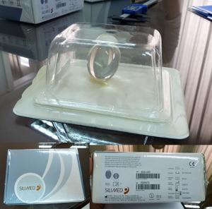 新しい睾丸インプラント材の「シリコンボール」はSILIMED社製品