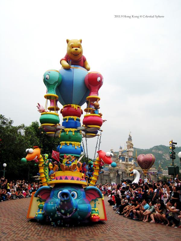 香港行-DAY2 迪士尼遊行:飛天巡遊 - 天*體*運*轉