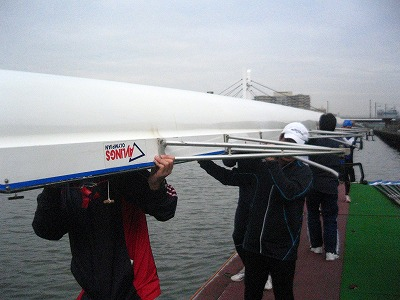 toumon middle rowing 練習実績