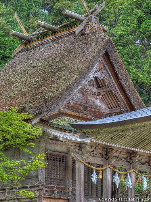 旅するTZRの文化財撮影記 玉若酢命神社(島根) 【重文】