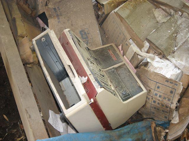 сломанный кассовый аппарат