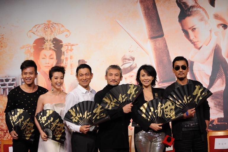 東方不敗在電影江湖 香港電影 2010