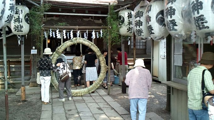 「神明宮茅の輪祭」の画像検索結果