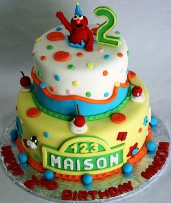 Elmo Cake Decorations Edible Cake Decorating A Fun And Delicious
