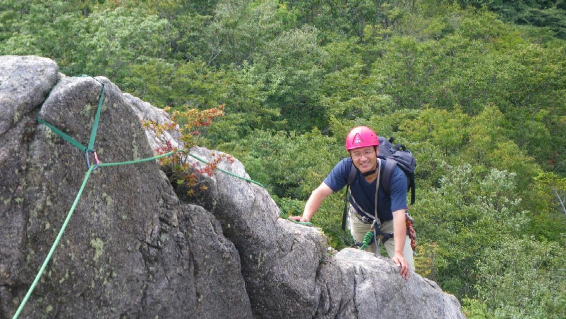 二ツ箭山 まりっくクライミング講座 - 山登りと音楽があれば