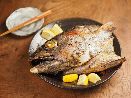 よこわまぐろのかぶと焼き - 魚料理と簡単レシピ