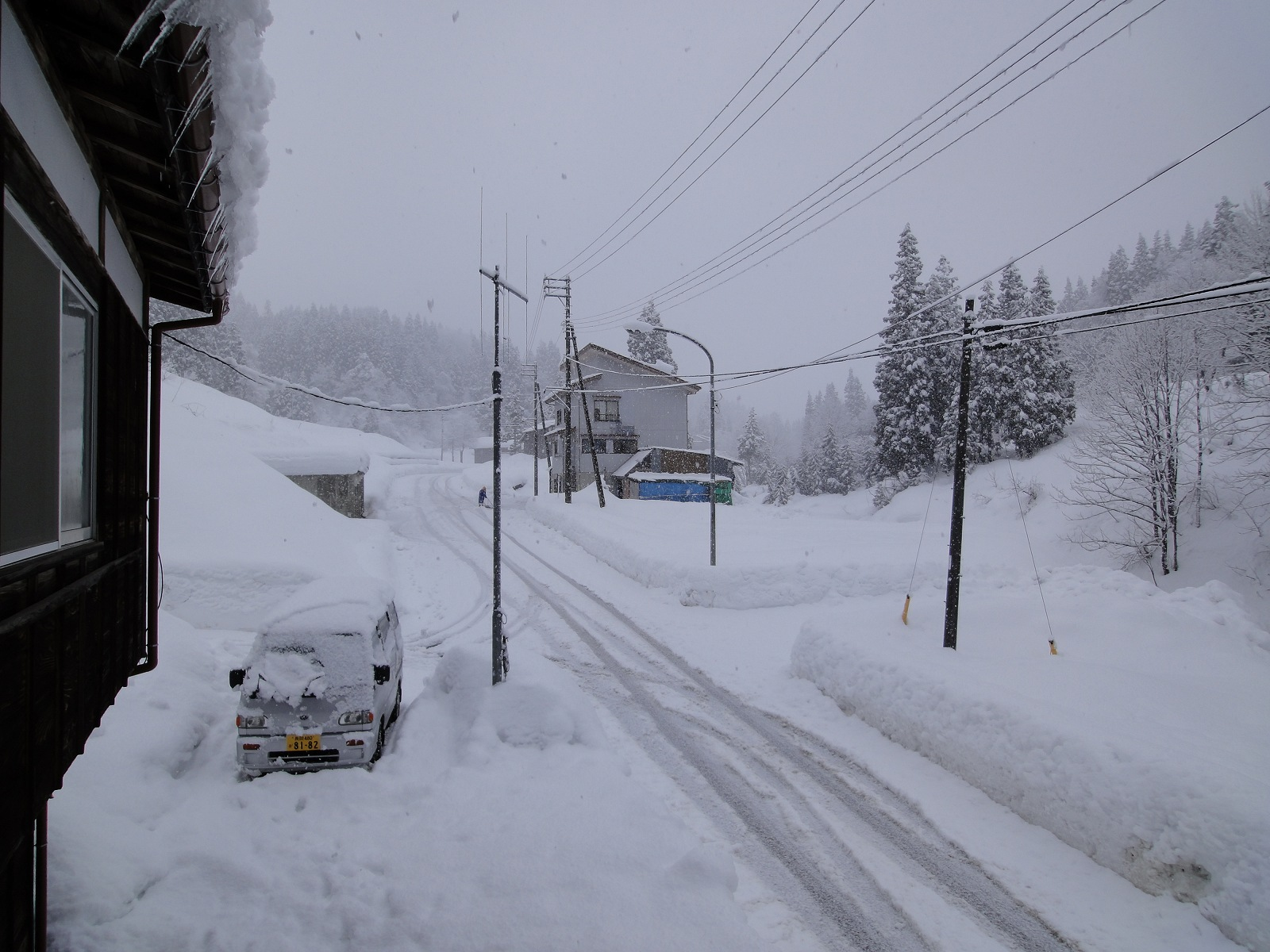 定點観測 - 真の日本一の豪雪地帯、松之山町からの雪ヲタによる実況と配信とか