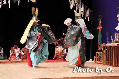 二羽散米舞