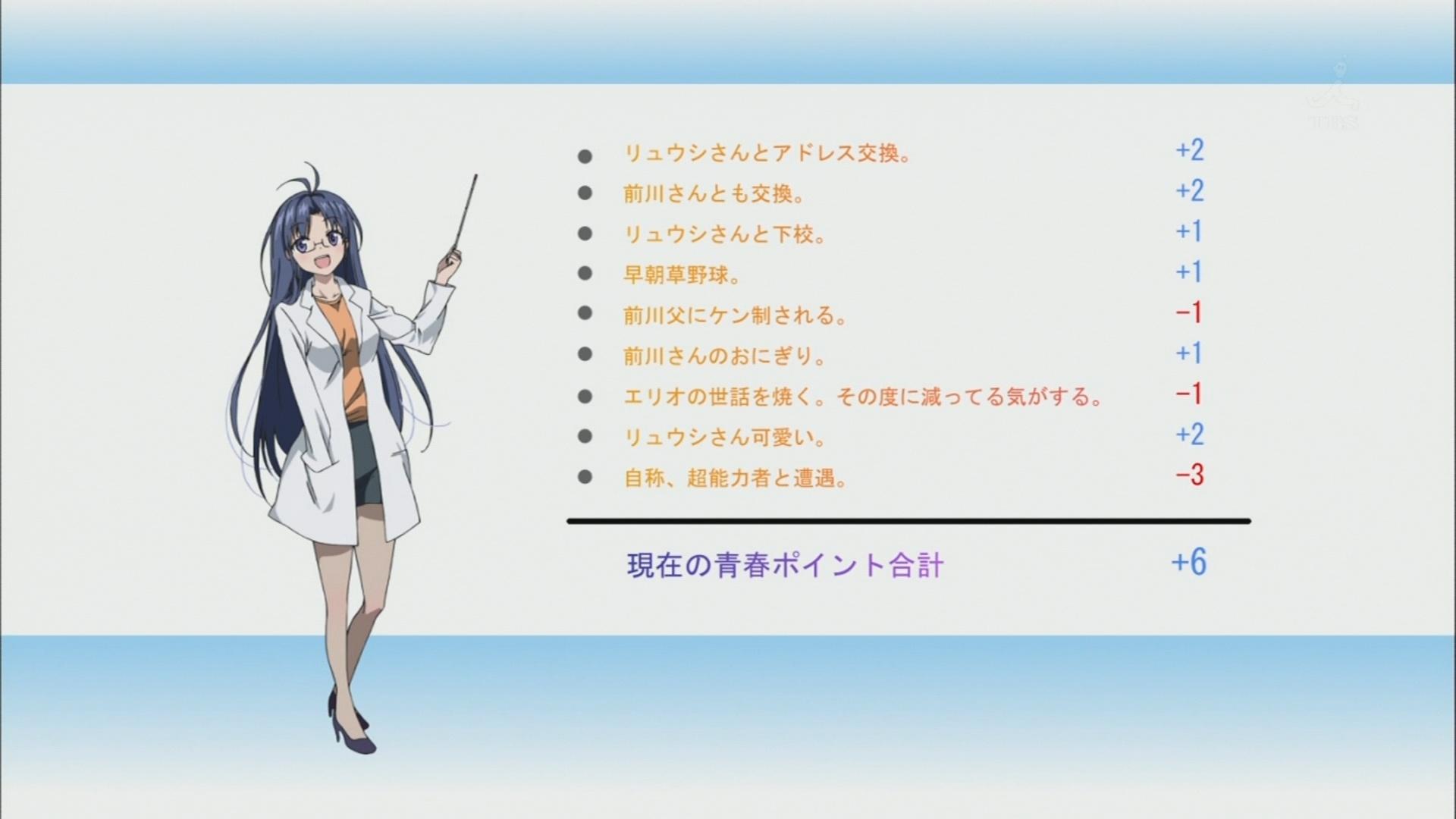 電波女と青春男 9話 : あ・ず・オ・ン