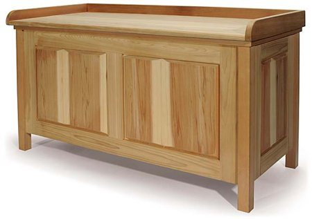Wood Storage Bench Plans Free - How To build DIY Woodworking