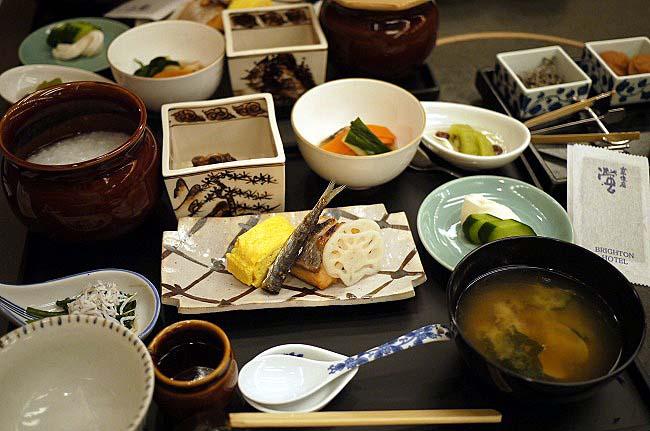 京都でおいしい和食の朝ごはん@京都ブライトンホテル - グルメ