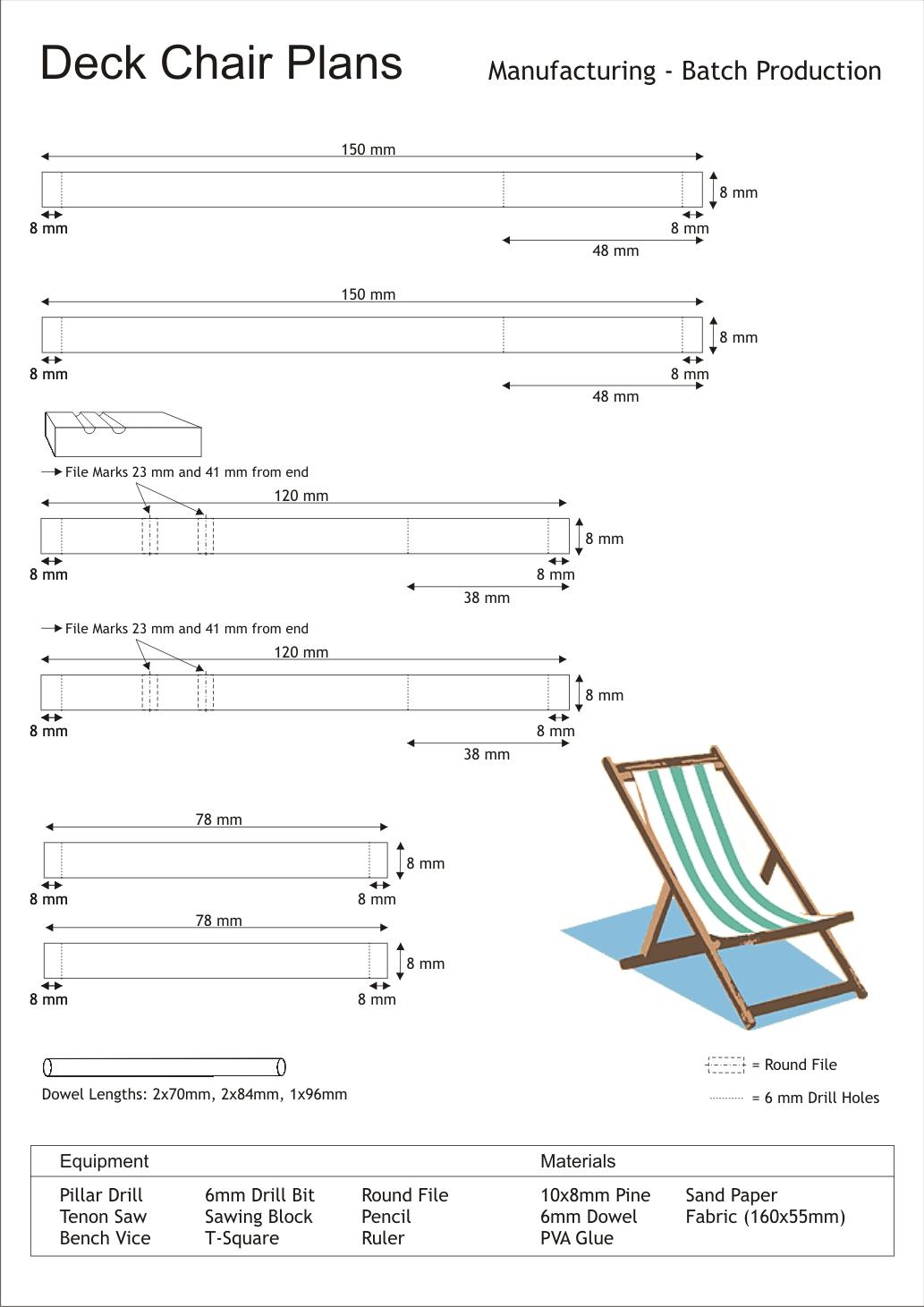 Deck Chair Plans Plans DIY Free Download michaels wood