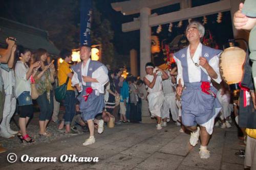 姥神大神宮渡御祭 2012 下町巡幸 宿入れの儀
