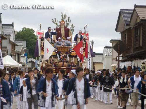 姥神大神宮渡御祭 2012 下町巡幸 義公山