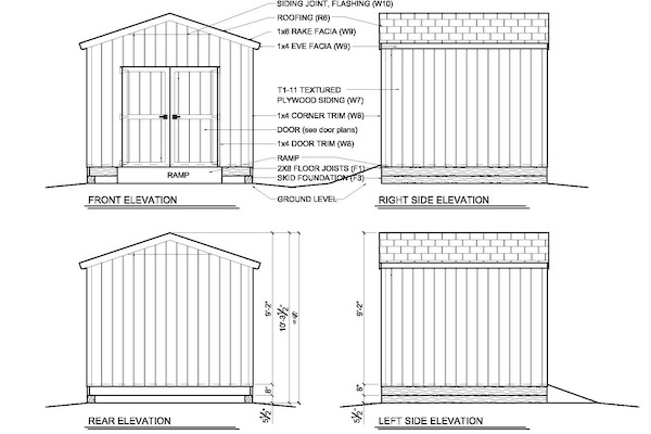 Build Shed Storage Shed Plans 10x10 Free How to Build DIY