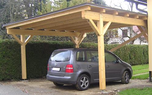 wooddesign car port