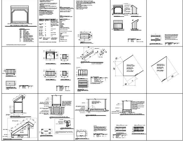 car storage building plans