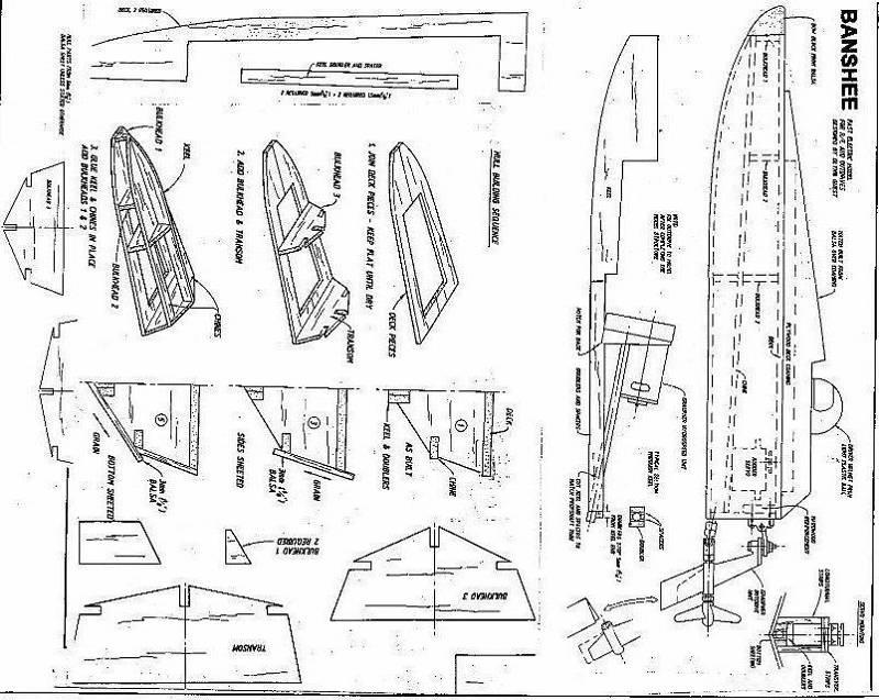 Free Boat Model Plans How To DIY Download PDF Blueprint UK