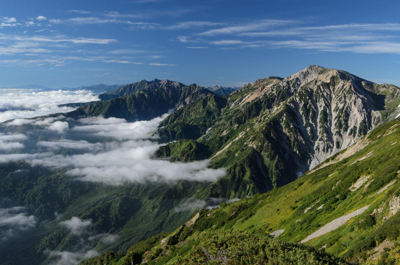 日本は,美しい。 白馬連峰縦走