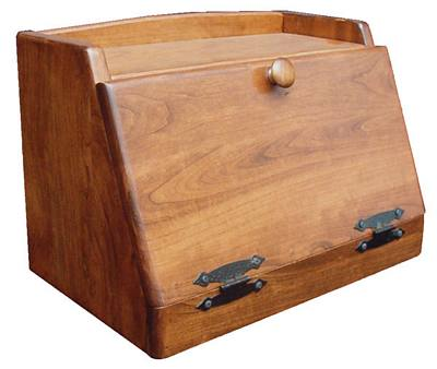 Bread Box Woodworking Plans - Easy DIY Woodworking Projects Step by ...