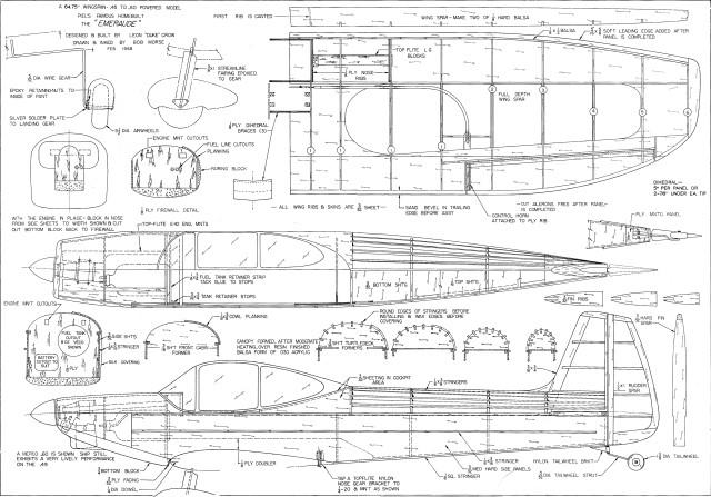 Download Balsa Wood Airplane Plans PDF indoor castle playhouse plans