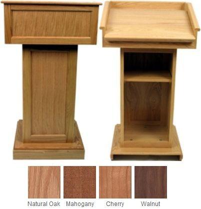 Wood Lectern Plans