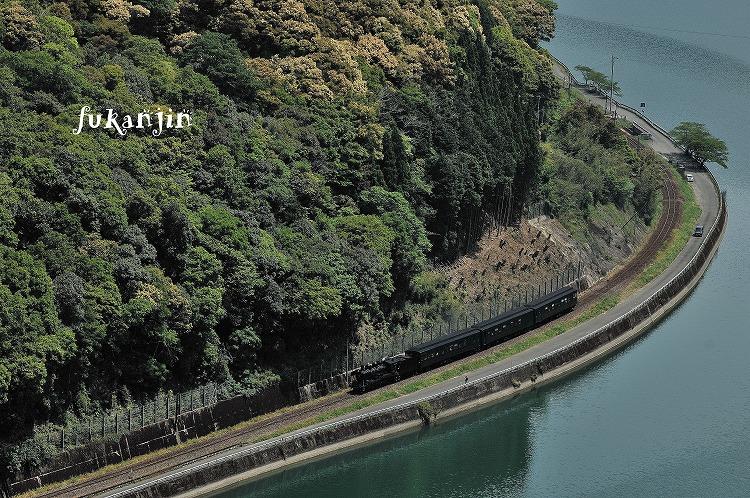 ファインダーの中の汽笛 必殺線 海路駅俯瞰 チョー有名なポイント!!