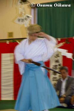 白符大神宮 宵宮祭 2012 松前神楽 山神舞