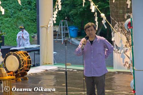 かがり火コンサート 2012 主催者挨拶