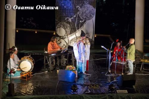 かがり火コンサート 2012 龍笛とコラボレーション